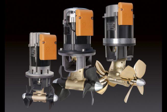 Les 3 modèles de propulseurs proportionnels Quick BTDC-AC