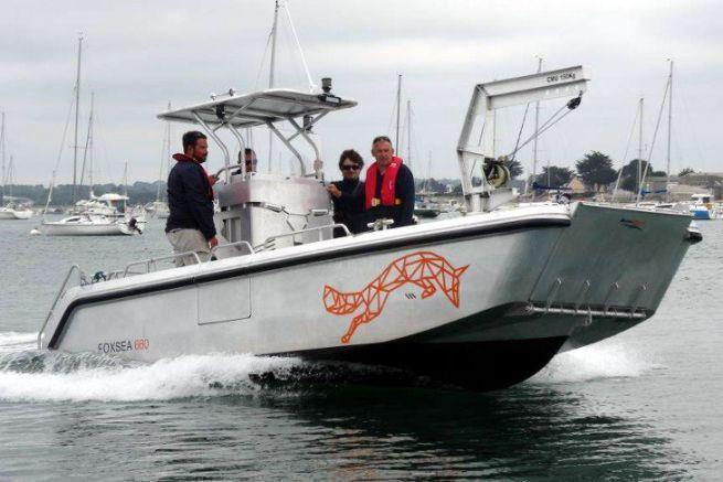Foxy 660, bateau de servitude portuaire du chantier naval Bord à Bord