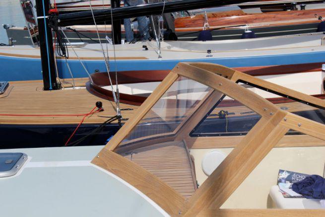 Pare-brise de bateau réalisé par Hublot Bateau