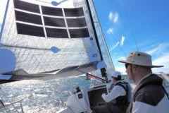 Power Sail sur le J88 - Oceanvolt