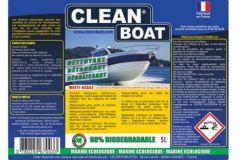 Nouvelle étiquette Clean Boat