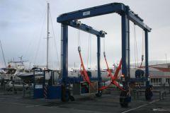 Nouvel élévateur à bateaux du port des Minimes à La Rochelle