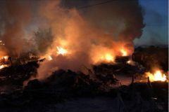 Incendie du port à sec de Corse Nautic Service