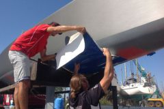 Application de l'antifouling MacGlide