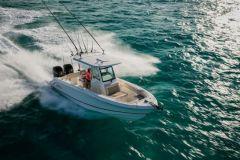 Brunswick met un Boston Whaler 250 Outrage à disposition du MIT pour ses recherches sur le bateau autonome