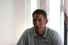 Greg Evrard, dirigeant de North Sails France présente le Nordac 3Di
