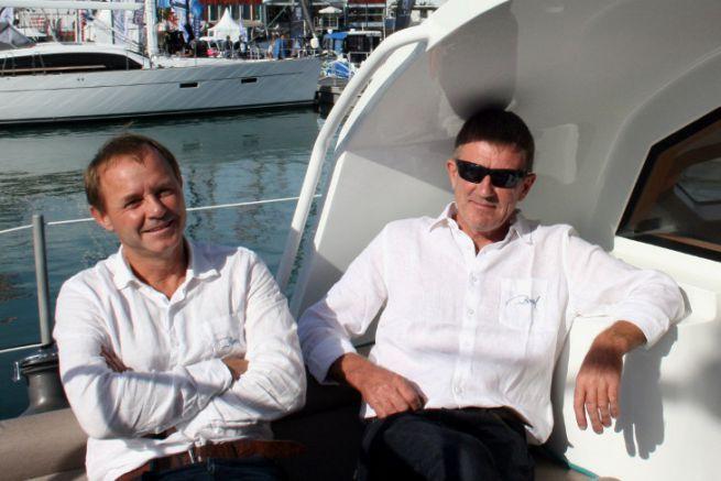 Jean-François Eeman et Jean-François Delvoye (de gauche à droite), le duo à la tête des voiliers Boréal