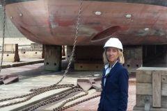 Florence Vareilles, fondatrice de Le Havre Naval Projects