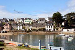 Port de Sainte-Marine d'où exerçait le skipper condamné
