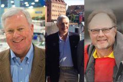 De gauche à droite: Thomas J Dammrich, président de la NMMA, Piero Formenti, président de l'EBI et Jouko Huju, président de l'IC