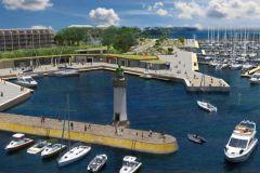 Futur aménagement de Port-Haliguen