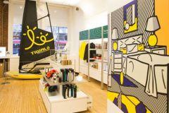 Le dériveur Tiwal au MOMA Design Store