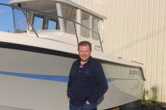Nicolas Chiloff, dirigeant des marques White Shark et Guymarine
