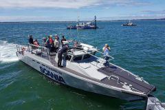 Essai des moteurs marins Scania