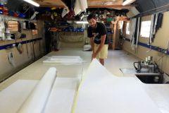 Tom Bernard, repreneur de la voilerie Jacana