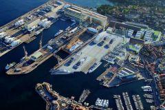 Projet de travaux à La Ciotat Shipyards