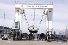 Elevateur à bateaux du plateau nautique de La Rochelle