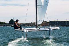 BeFoil 16, un catamaran volant pour les écoles de voile