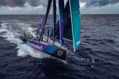 Team Akzo Nobel sur la Volvo Ocean Race