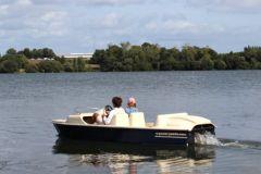 E-Pedal Yacht, un pédalo à assistance électrique