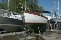 Carénage d'un bateau de plaisance