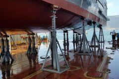 Chandelles de calage Naval Tecno Sud