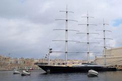 Le Maltese Falcon construit par Perini Navi