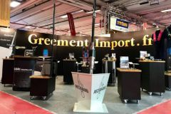 Stand Gréement Import au Nautic 2020