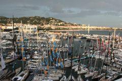 Aider la plaisance et les salons nautiques face à l'orage... (Vue du Cannes Yachting Festival)