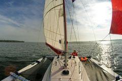 Vue du trimaran Astus 24 d'Astus Boats