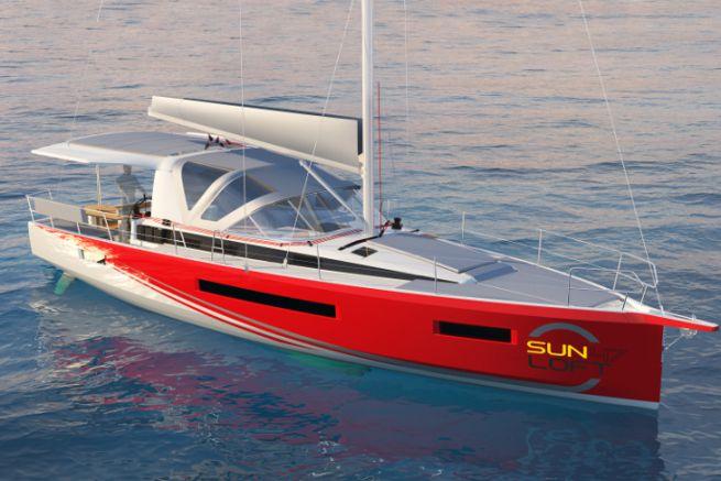 Nouveau Sun Loft 47 de Jeanneau pour la location de bateau à la cabine