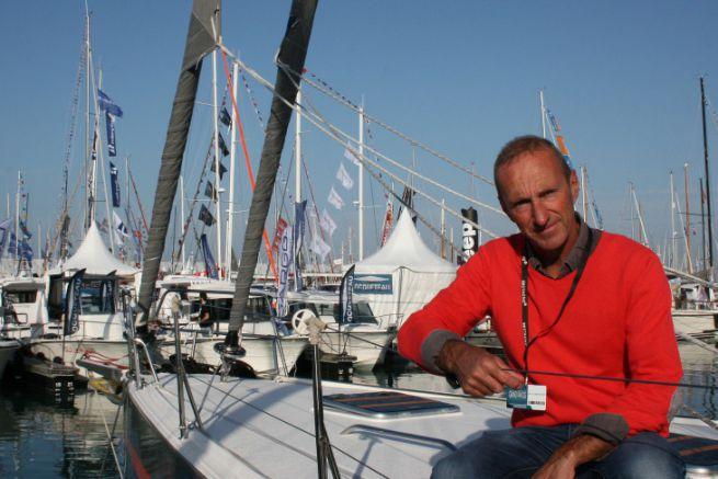 Jean-Pierre Kelbert, fondateur du chantier JPK