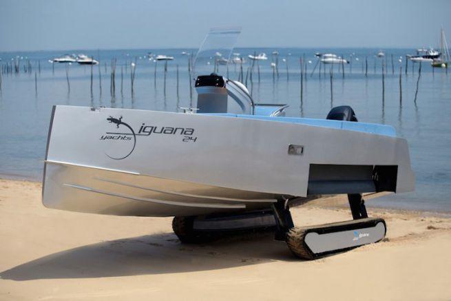 Iguana 24, bateau amphibie de Iguana Yachts