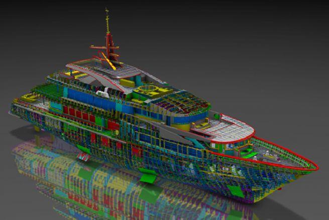 Yacht CMN sur Dassault