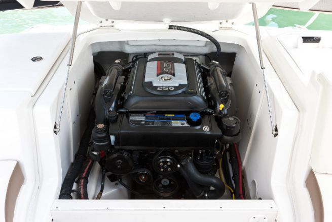 Remotorisation avec un moteur inboard Mercury