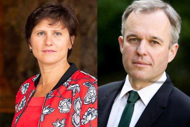 Roxana Maracineanu et François de Rugy, les nouveaux ministres en charge de la plaisance et du nautisme