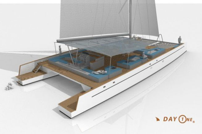 Nouveau catamaran Day One, construit par TechniYachts Pinta