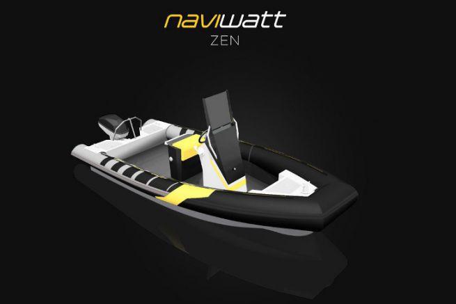 Net-zen de Naviwatt, lauréat du prix du concept au concours du bateau électrique de l'année
