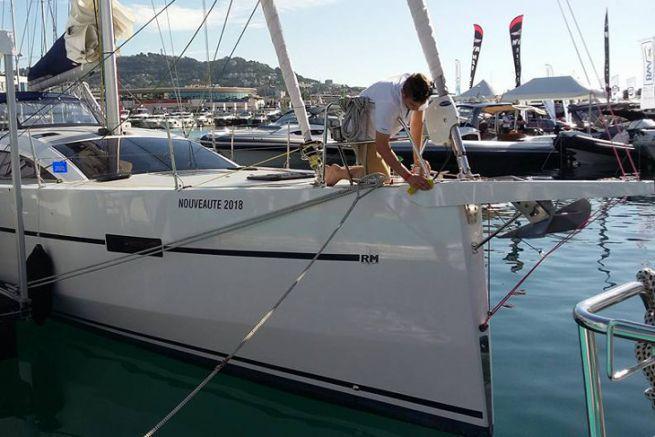 Le nettoyage des bateaux prend une place de choix suite à la crise sanitaire