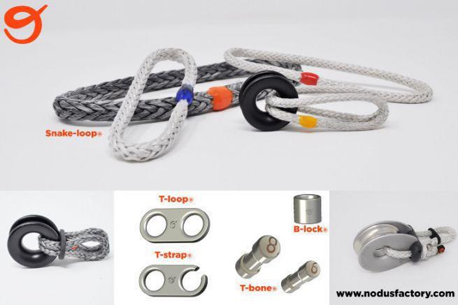 Echantillon de produits Nodus Factory pour les professionnels