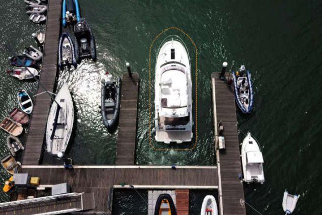 Accostage avec la technologie DockSense