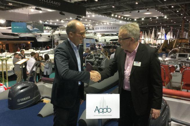 Brieuc MORIN, secrétaire général de l'APPB, et Jonathan FIELDING, président de la BMSW