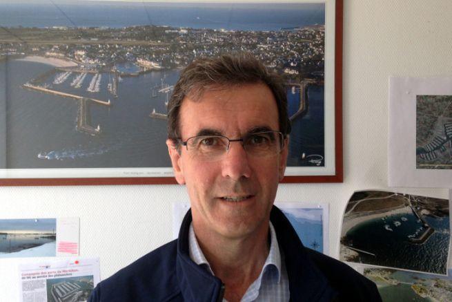 Michel Le Bras, directeur de la Compagnie des Ports du Morbihan