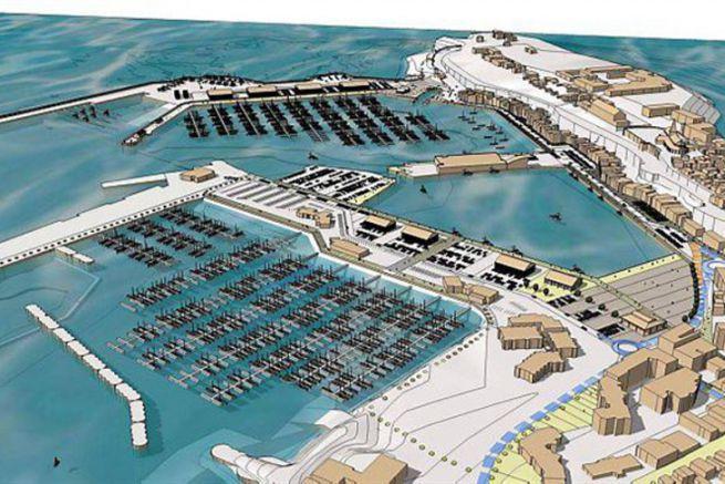 Projet de réaménagement du port de Granville