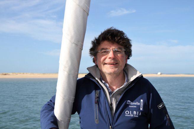 Hakim Rahmoun patron du chantier Olbia