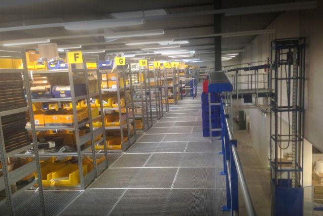 Entrepot du distributeur allemand Bukh Bremen