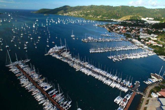 Port de plaisance du Marin en Martinique, base de Régis Guillemot Charter