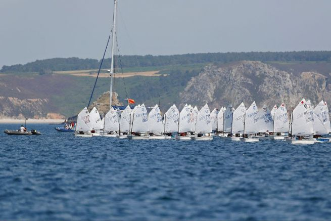 Coupe Internationale d'Eté en Optimist à Crozon-Morgat