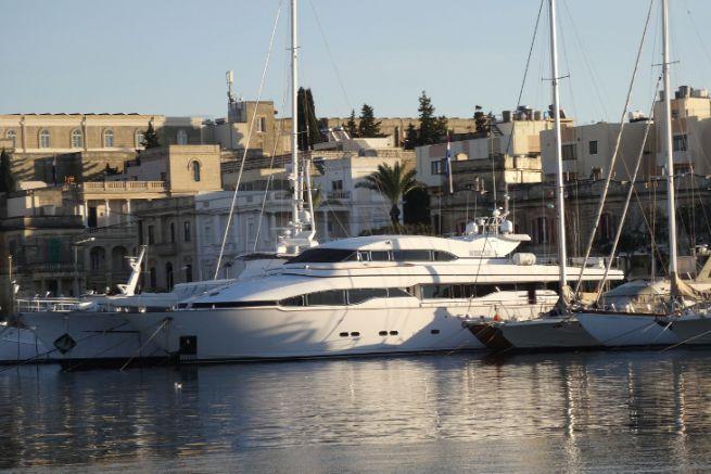 Yacht à Malte
