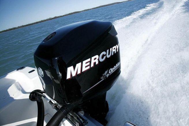 Moteur hors-bord Mercury, marque du groupe Brunswick